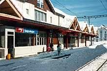 CJ train station Saignelégier