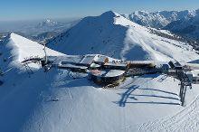 Region narciarski w dwóch krajach Fellhorn-Kanzelwand