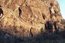 Palestra di roccia naturale - La bistecca