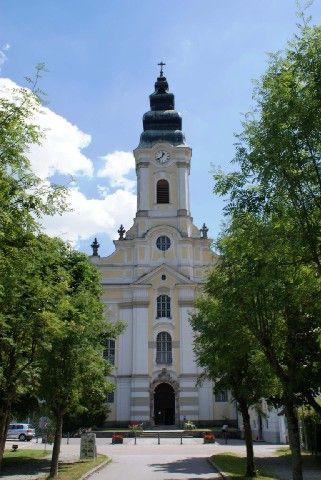 Stift Engelszell ist das einzige Trappistenkloster Österreichs und wurde 1293 gegründet. - Engelhartszell Oberoesterreich