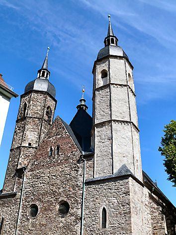 Kirche Sankt Andreas - Lutherstadt Eisleben Sachsen-Anhalt