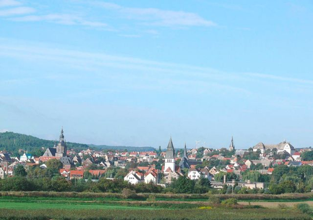 Panorama Ansicht Lutherstadt Eisleben - Lutherstadt Eisleben Sachsen-Anhalt